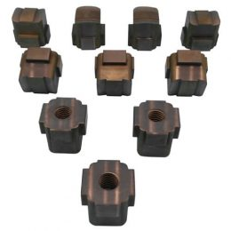 Carbide Punches with Complex Contour
